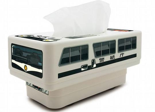 RC Tissue Box Japanese Police Car