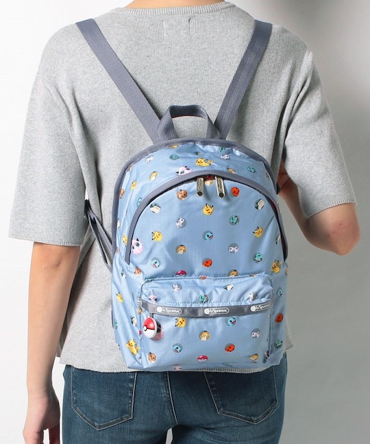 LeSportsac Pokemon SM Hollis Backpack Dot Light