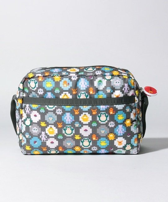 LeSportsac Daniella Crossbody Pokemon Pixel Light Bag