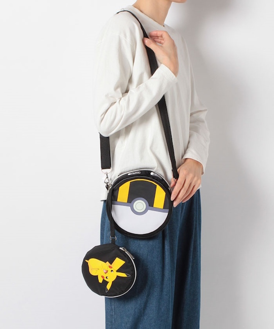 LeSportsac Leah Crossbody Bag Pikachu Ultra Ball