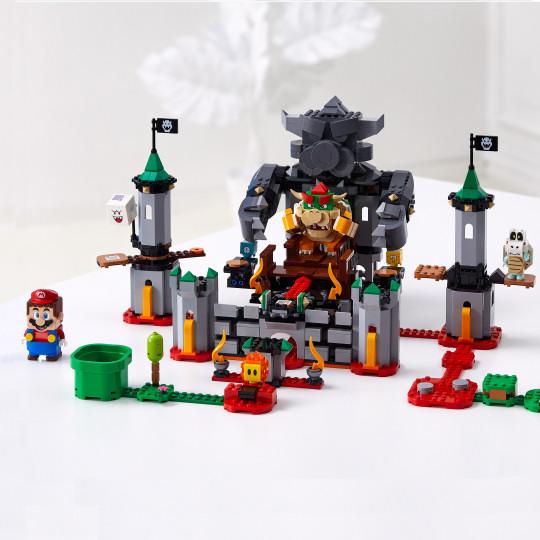 Lego Super Mario Bowsers Castle Boss Battle