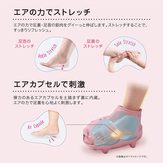 Lourdes Rilaboo 2 Foot Massager