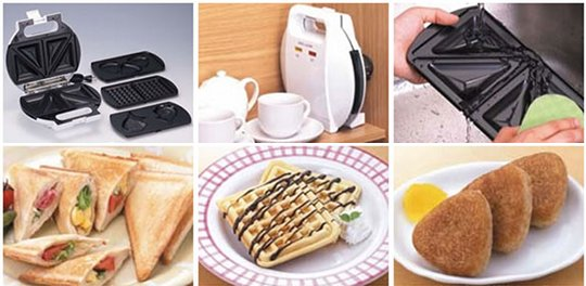 Mighty Sando Plus One Taiyaki Sandwich Toaster
