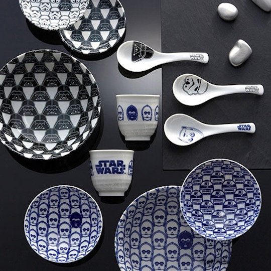 Star Wars Japanese Ceramic Tableware Set