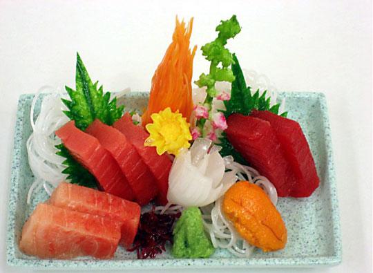 Replica Sashimi Plate