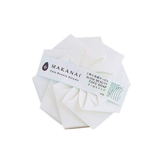 Makanai Slow Beauty Face Charcoal Soap