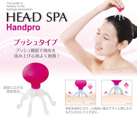 Head Spa Hand Pro Push Massager