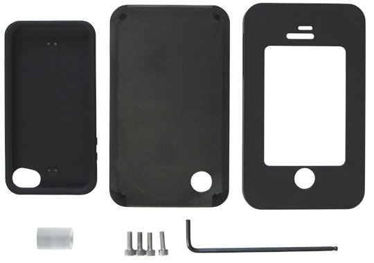 1-Inch Armor Plating Case for iPhone 4 / 4S