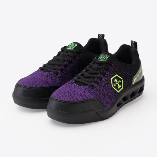 Mandom Evangelion Unit-01 AT Field Safety Sneakers