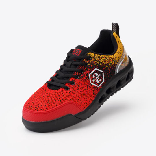 Mandom Evangelion Unit-02 AT Field Safety Sneakers