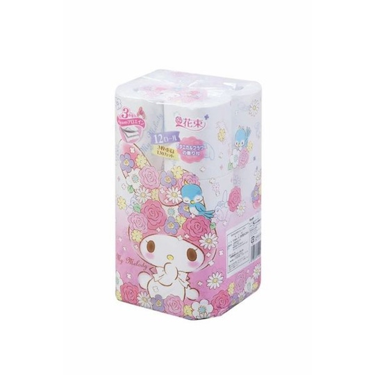 My Melody Toilet Paper (6 Pack, 72 Rolls)