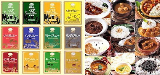 Takumi no Aji International Curry Set