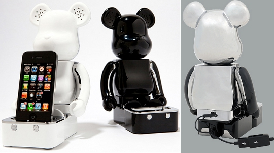 Be@rbrick iPhone iPod Speaker System