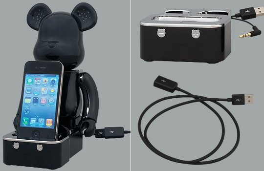 Be@rbrick iPhone iPod Lautsprecher-System