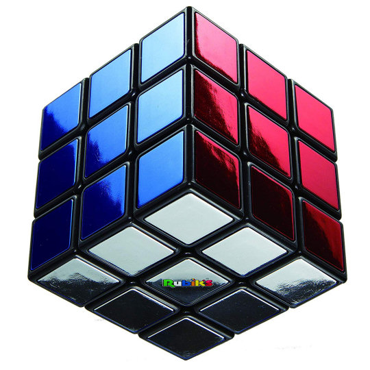 40th Anniversary Metallic Rubiks Cube