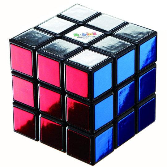 40th Anniversary Metallic Rubiks Cube