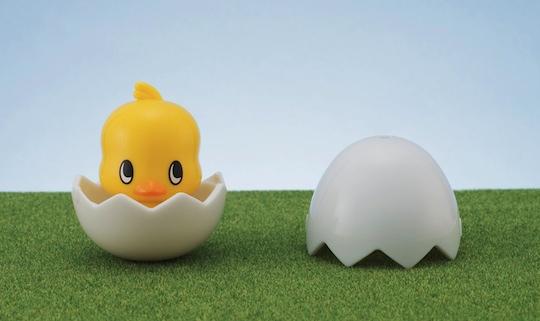 Kyara-tama Chicken Ramen Hiyoko-chan Chick Timer Toy