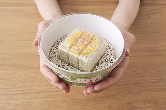 Midori no Tanuki Cube Instant Noodles Rubik's Cube