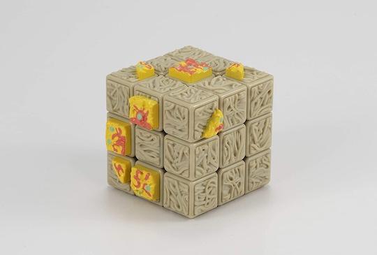 Midori no Tanuki Cube Instant Noodles Rubiks Cube