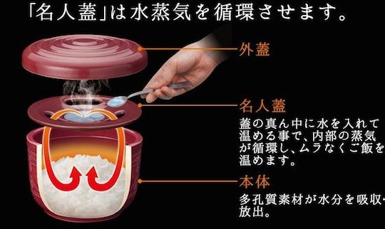 Ohitsu Meijin Rice Steamer Pot