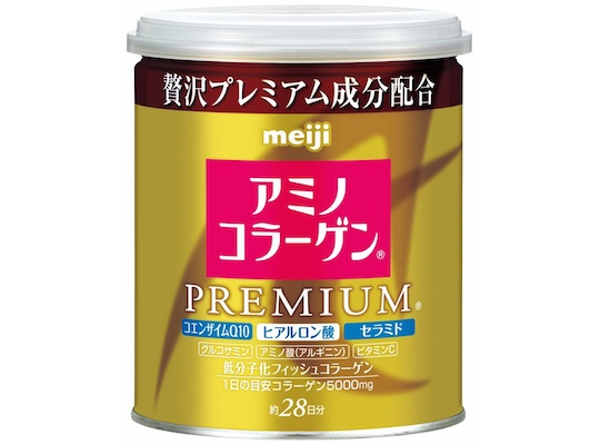 Meiji Amino Collagen Powder Premium 200g Can