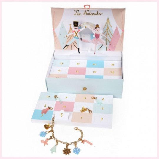 Meri-Meri Nutcracker Charm Bracelet Advent Calendar