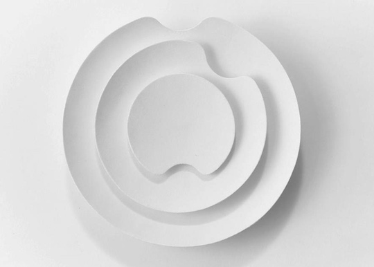 Fumon Inshu Washi Kinetic Wall Clock Sculpture