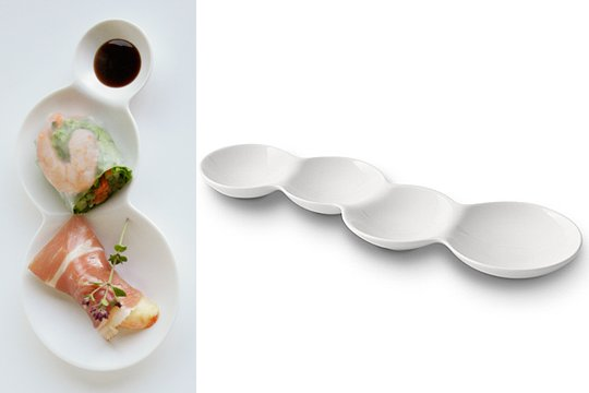 savone Divided Plate Set