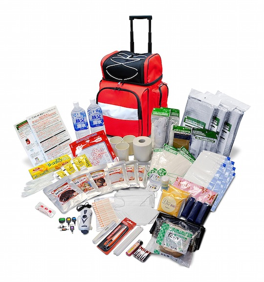 Emergency Survival Pack Suitcase