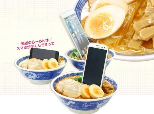 Japan Food Sample Ramen Noodles Smartphone Stand