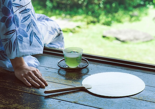 Komorebi Uchiwa Designer Fan