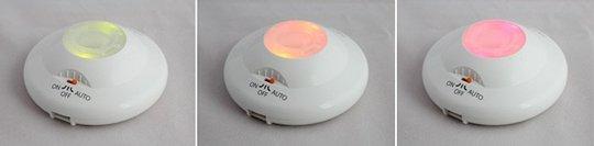 Shock Sensor Lamp