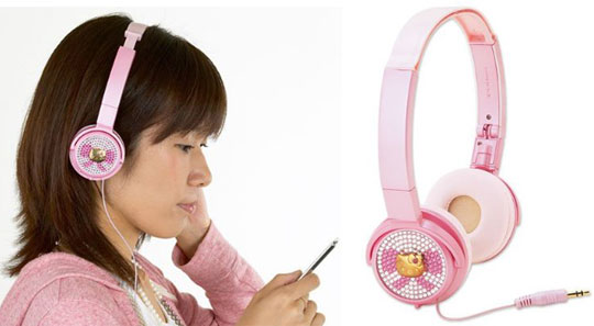 Where Can I Buy Novelty Travel Portable On-Ear Foldable Headphones Birthday Party - Birthday Princess With Pink Dots