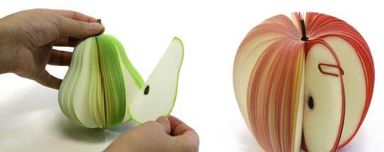 Kudamemo Früchte-Notizblock