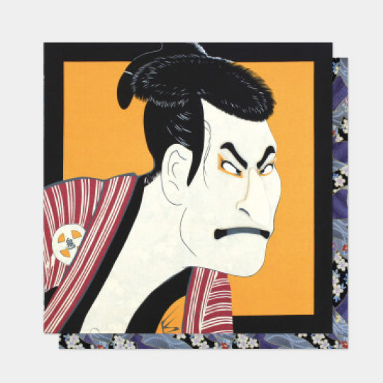 Traditional Faces Furoshiki