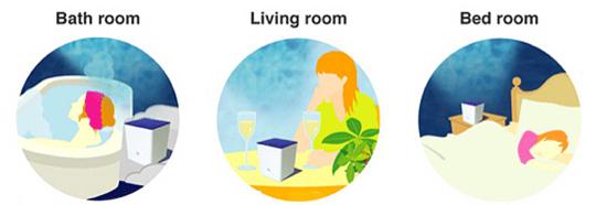 Relaxing Ocean Projector Pot