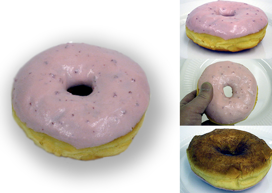 Replica Strawberry Donut