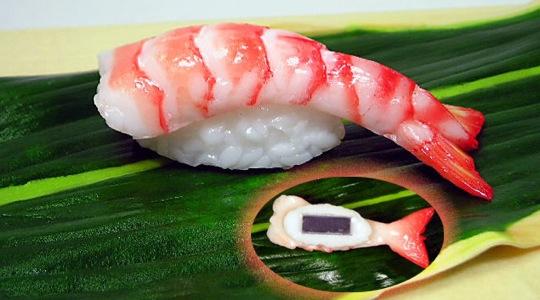 Mini Shrimp Sushi Magnet