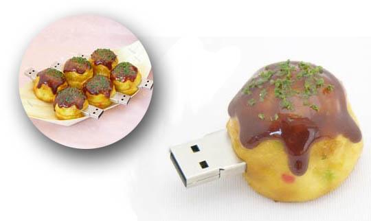 Takoyaki 1GB USB Memory Stick