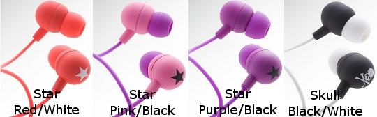Mix-Style Inner Headphones