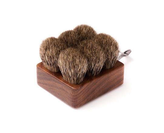 Suve Body Brush Short Semi-hard