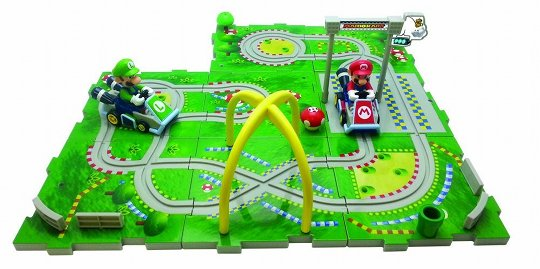 japan trend shop mario kart 7 puzzle circuit. Black Bedroom Furniture Sets. Home Design Ideas