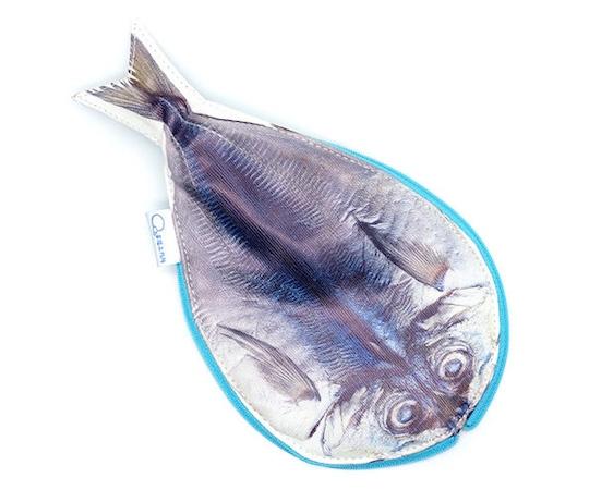 Aji Horse Mackerel Fish Pencil Case