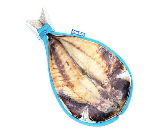 Aji Horse Mackerel Fish Pencil Case