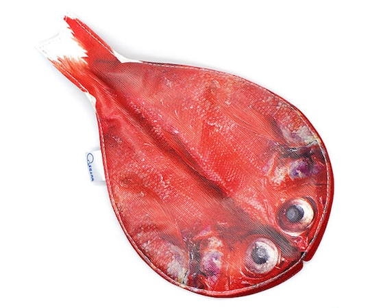 Kinmedai Beryx Split Fish Pencil Case