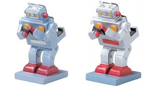 Retro Japanese Robot Smartphone Stand