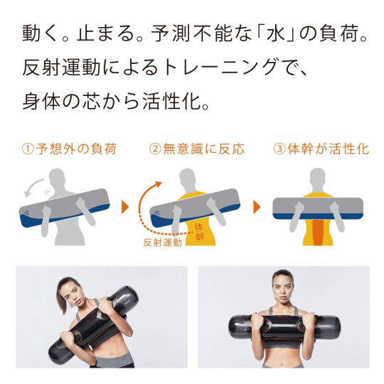 SixPad Water Weight Training Board