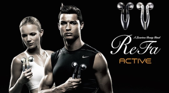 ReFa Active Microcurrent Double Massage Roller