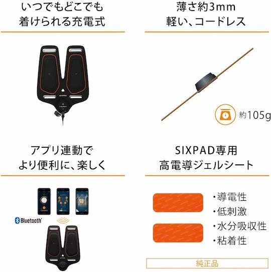 SixPad Leg Belt Training Gear