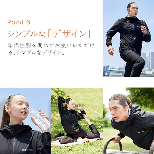 SixPad Sauna Suit Fitness Wear